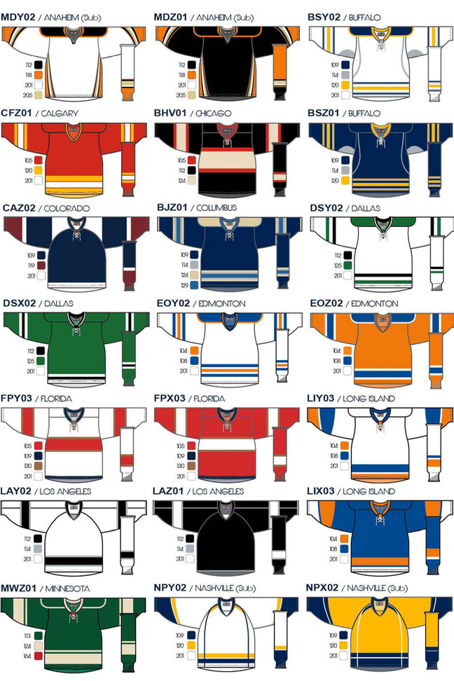 Hockey Jerseys Direct - A complete selection of blank NHL