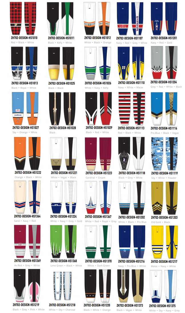 Sublimated Hockey Socks Canada Image Sock And Collections